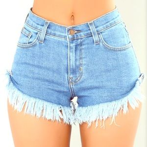 NWT Fashion nova desert dreams frayed shorts